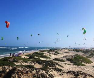 Sylwester - Sal - Wyspy Zielonego Przylądka - wyjazd kite szkoleniowy